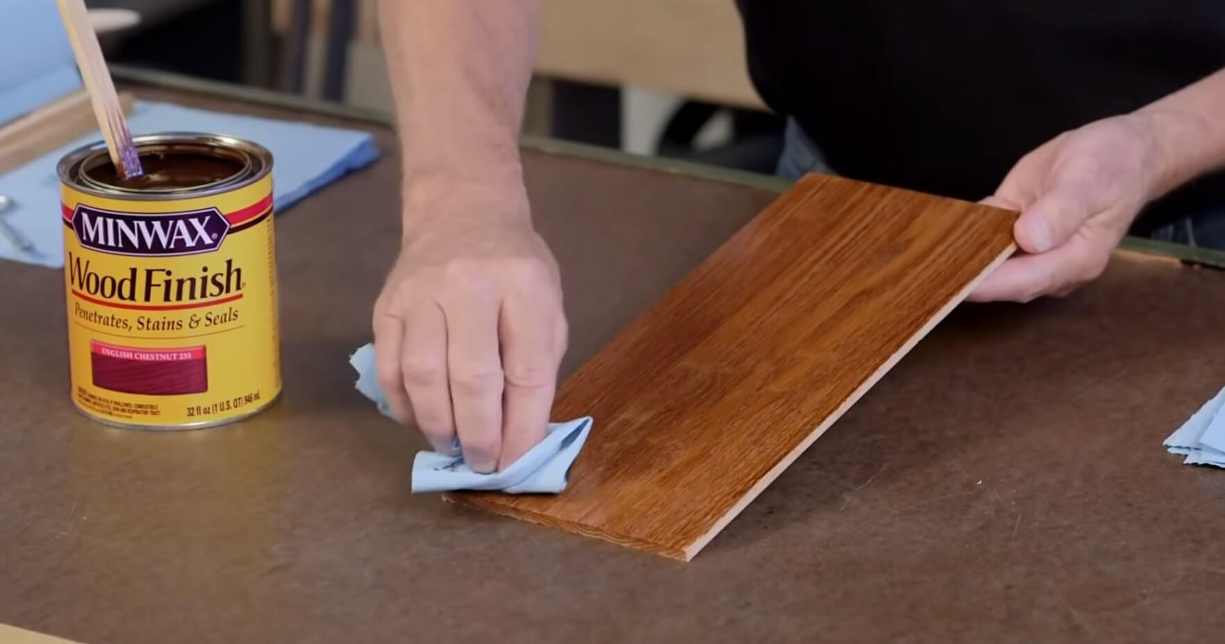 Wood Stain Process - Remove Stain Completely
